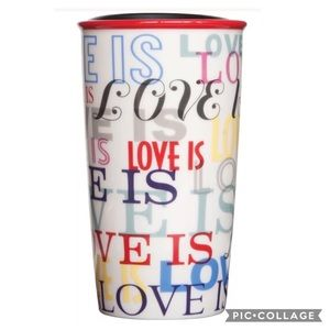 Love is love rainbow pride tumbler LGBTQ